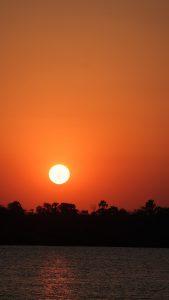 Sonnenuntergang Sambesi
