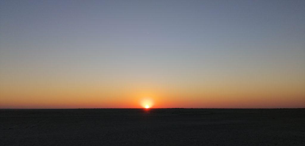 Sonnenuntergang weite