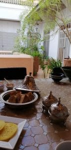Frühstück zimmer im Dar Lalla F'dila